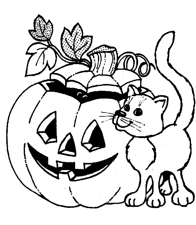 coloring pages fall halloween coloring - photo#8