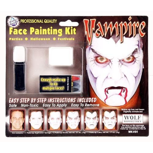 Easy and Fun Halloween Face Painting for Kids