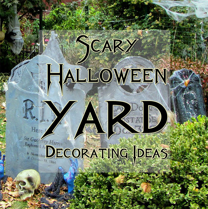 Scary Halloween Yard Decoration Ideas 6 scary halloween yard decoration ideas my happy halloween scary halloween yard decorations workwithnaturefo
