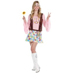 hippie lightup halloween costume