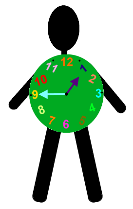 how to make a clock costume for kid