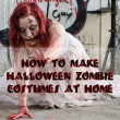 how to make halloween zombie costumes for adults