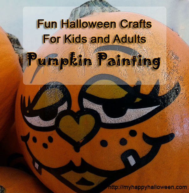 pumpkin painting ideas for kids and adults