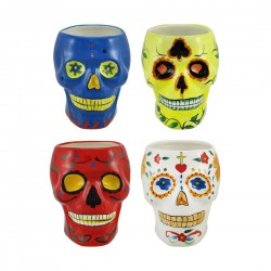 day of the dead coffee mugs