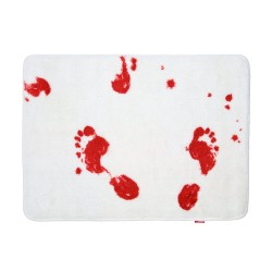 blood bath rug