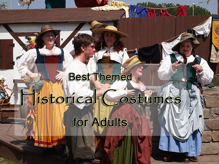 Best 10 Themed Historical Costumes for Adults