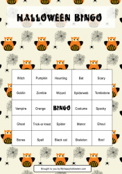 halloween bingo printable fb