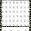 Halloween word search game printable
