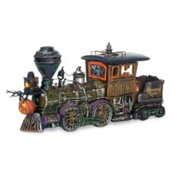 dept56 haunted rails and train collectibles
