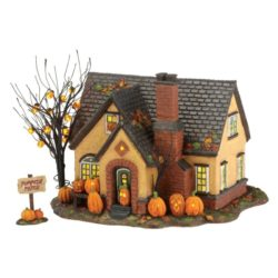 dept56 halloween pumpkin housea