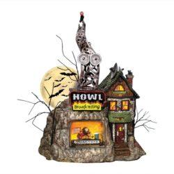 Dept56 Halloween howl radio