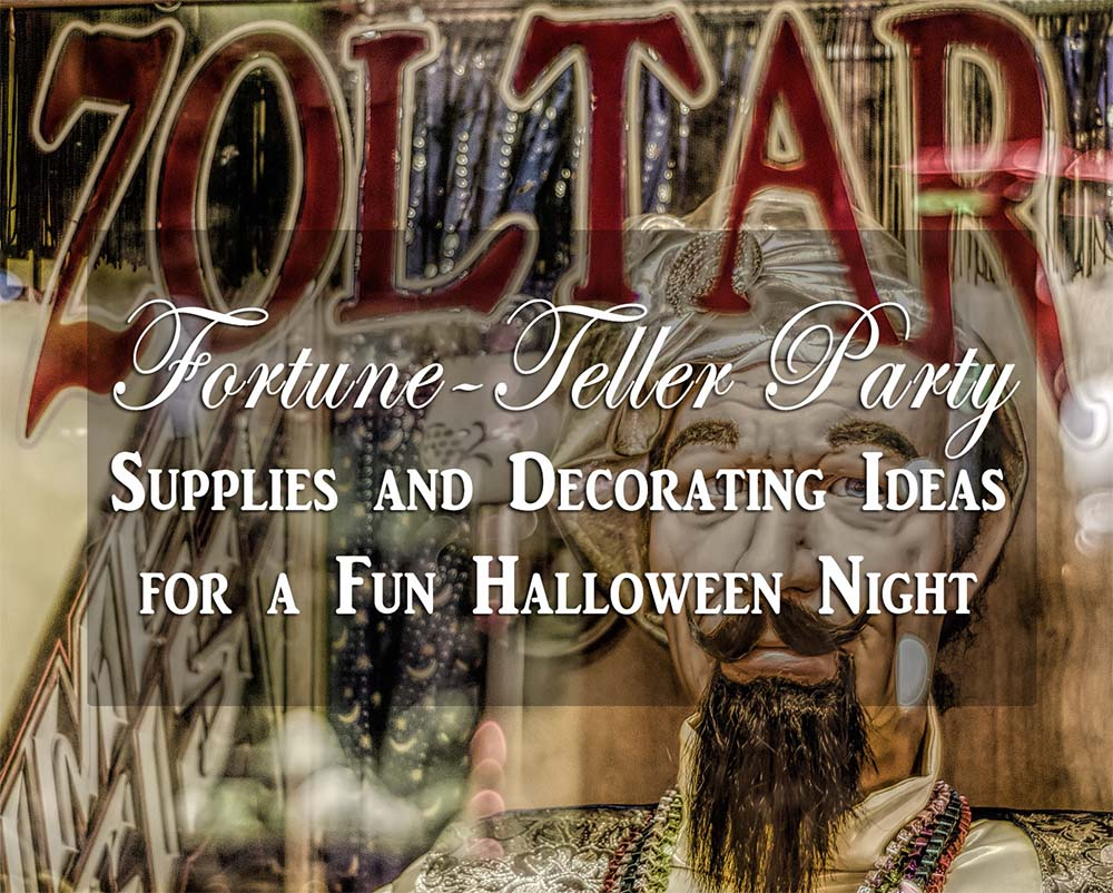 Fortune Teller Party Supplies And Decorations My Happy Halloween