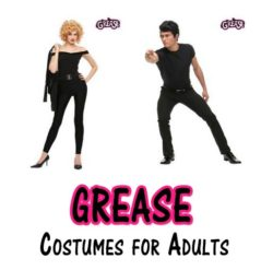homemade grease costumes for adults