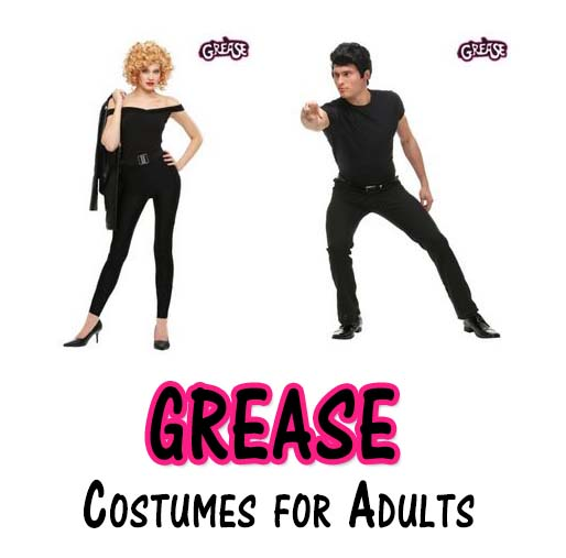 sc 1 st  Happy Halloween & Homemade Grease Costumes For Adults - My Happy Halloween