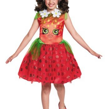 shopkins costumes for girls - strawberry kiss costume