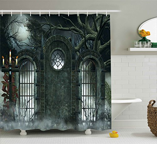 5 Amazing Interior Landscaping Ideas To Liven Up Your Home: 5 Halloween Shower Curtains To Spice Up Your Bathroom